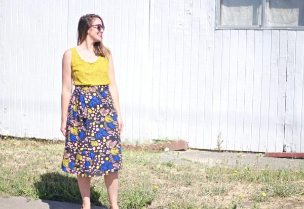 4e372876b6 How to Sew a Wrap Skirt | WeAllSew