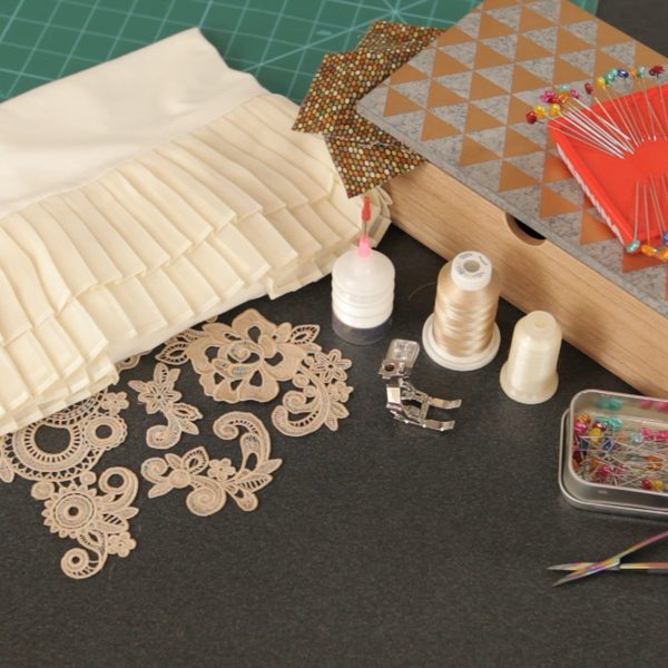 Lace Applique Tutorial-materials