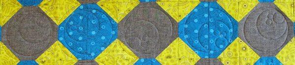 Magic Circle Block And Echo Quilting Weallsew
