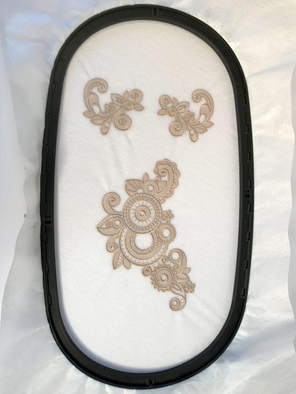 Stitched Lace