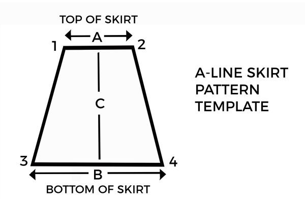 How to sew a 1-Hour A-line Skirt | WeAllSew