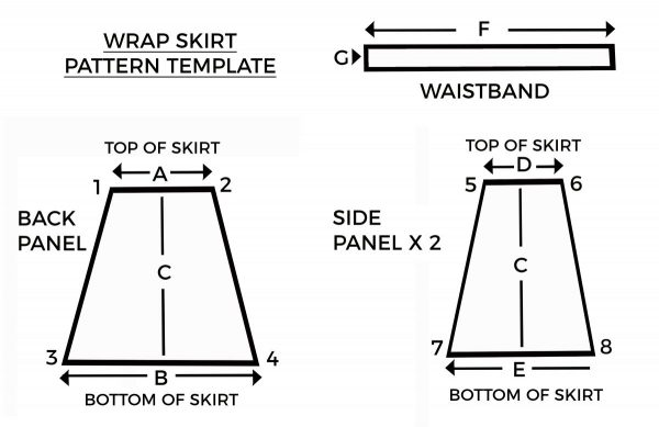 How to Sew a Wrap Skirt | WeAllSew