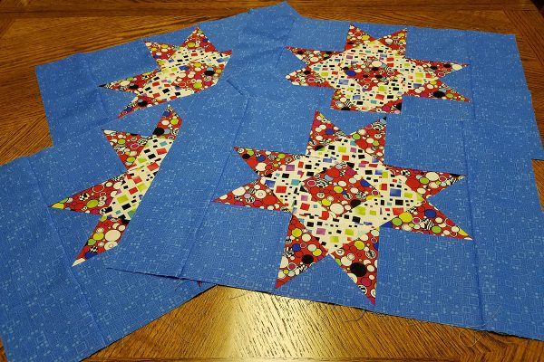 Four placemat tops