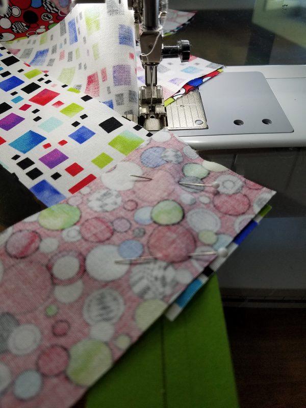 Stitching strips