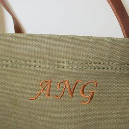 3-Letter Monogram created with BERNINA Toolbox Software