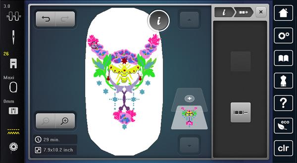 Customize Embroidery: 13 flatten