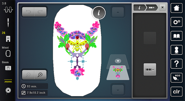 Customize Embroidery: 3 ungroup