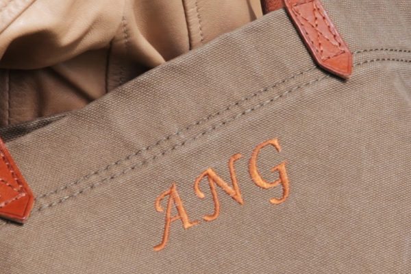 Monogram Bag Tutorial