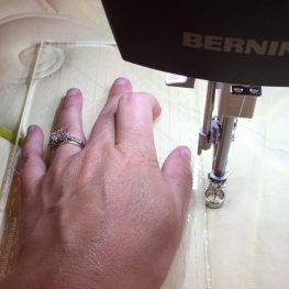 Tips for longarm rulerwork