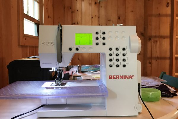 Vacation with your BERNINA
