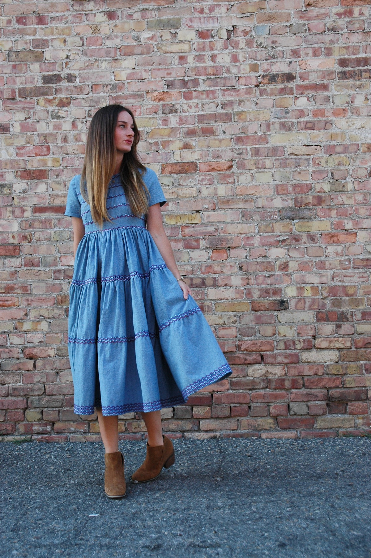 How To Sew A Tiered Dress With Trim Weallsew