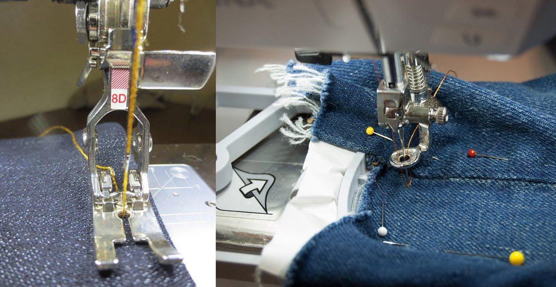 Denim and jeans tutorials at WeAllSew