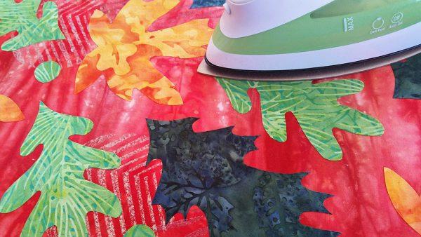 Fall leaves table runner