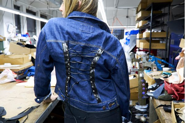 How to Add Detail to a Denim Jacket using Rivets