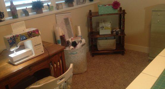 Grandma's Sewing Space