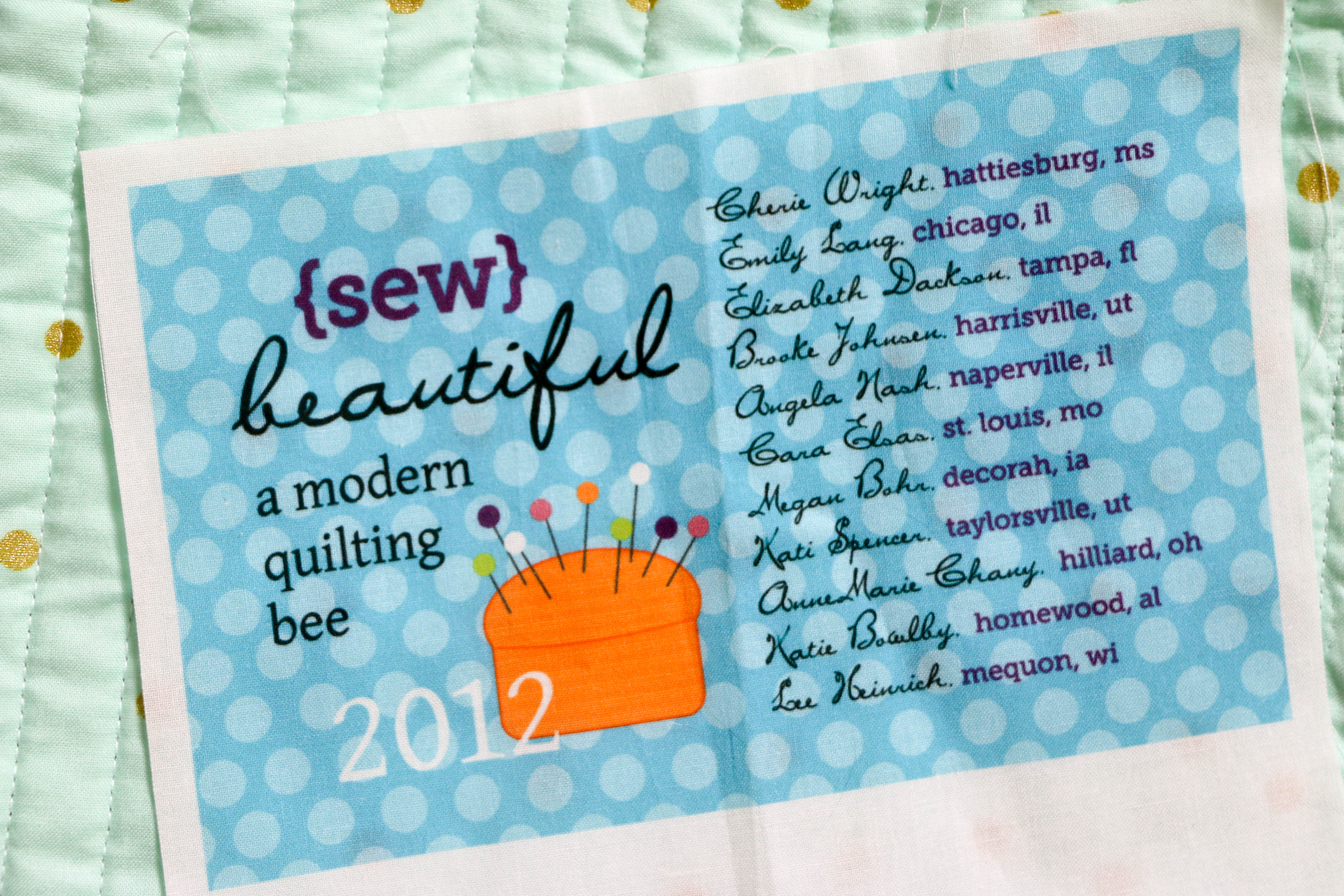 picture about Printable Quilt Labels known as Dont Ignore the Quilt Label! WeAllSew