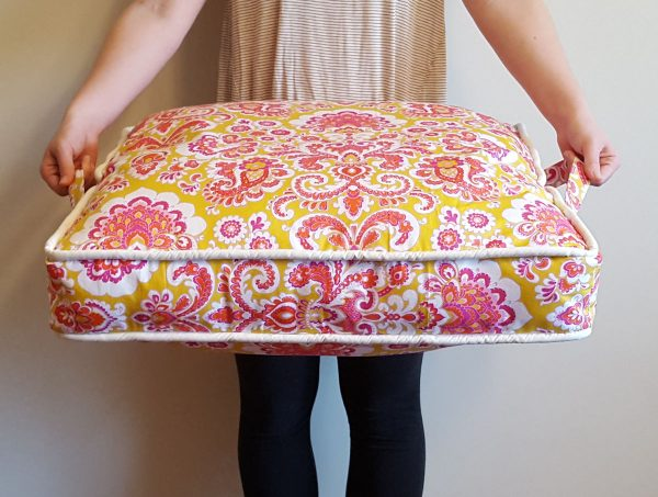 Big Comfy Floor Pillows : Quick Sewing Projects Make Great Gifts WeAllSew