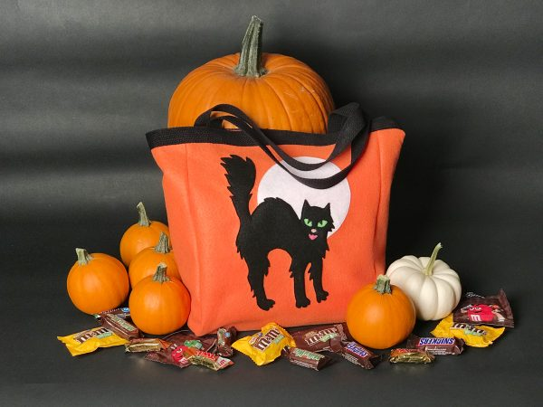 Halloween Treat Bag Tutorial