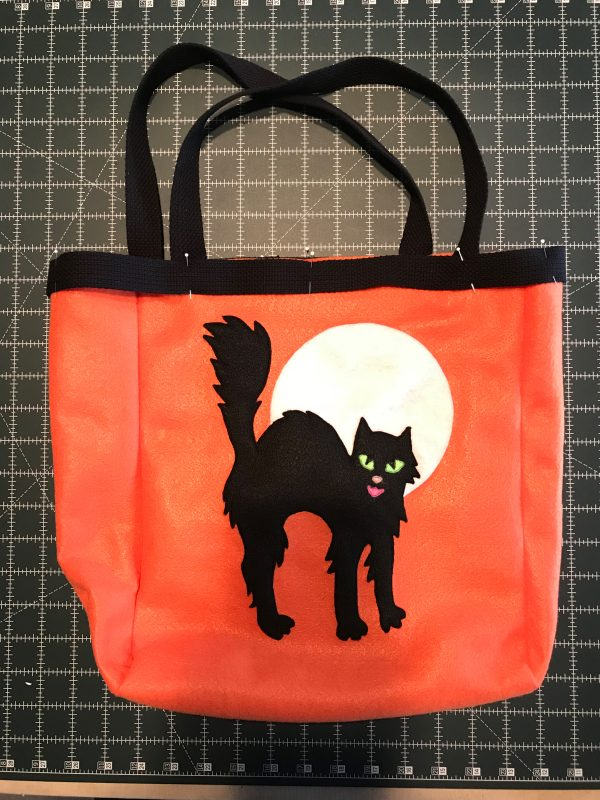 Halloween Treat Bag Tutorial-Halloween Treat Bag Tutorial-belting