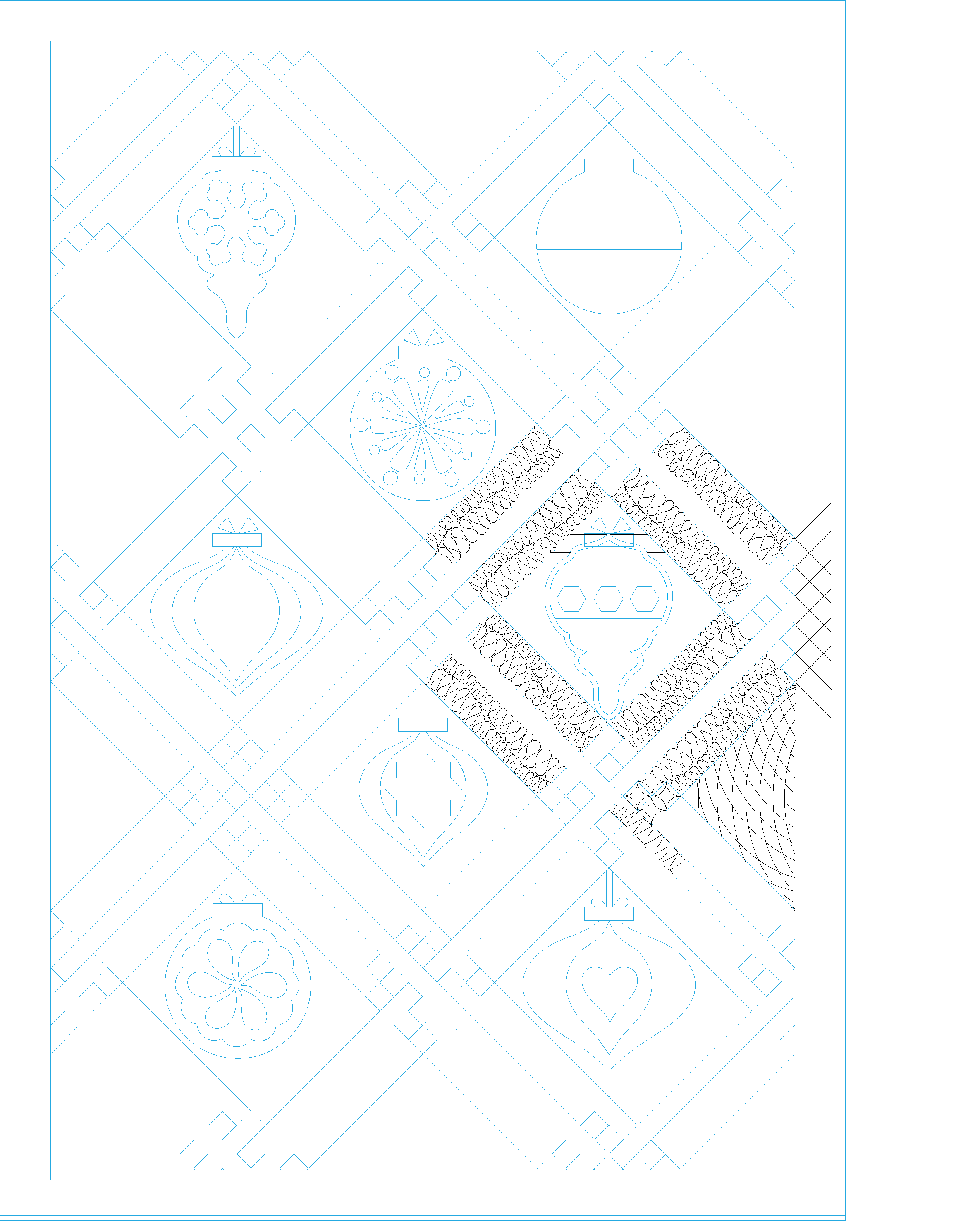 Download free vintage ornaments vintage ornaments and iders -  Below As A Pdf So You Can Play With Quilting Lines Before Working On Your Quilt Download The Printable Vintage Ornaments Quilt Ideas Template Here