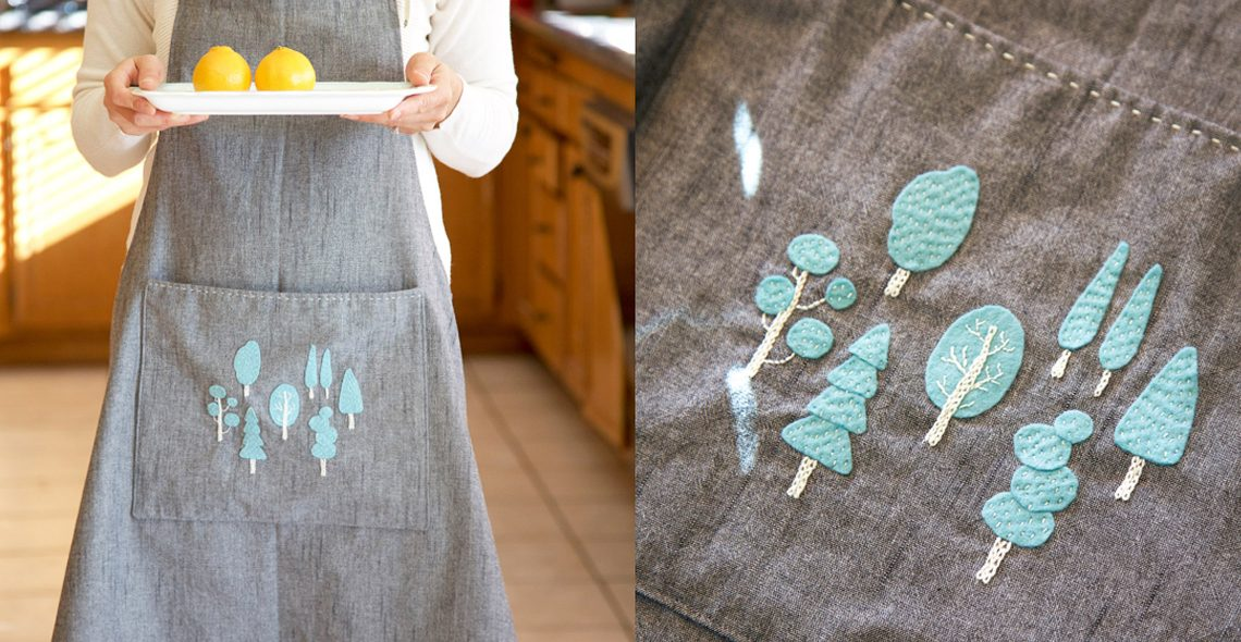 Charming apron tutorial from WeAllSew