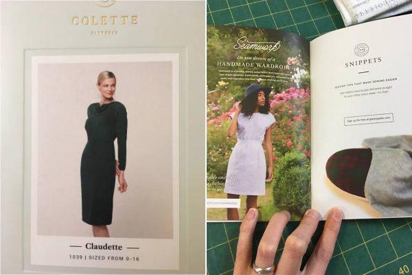 Colette pattern Claudette