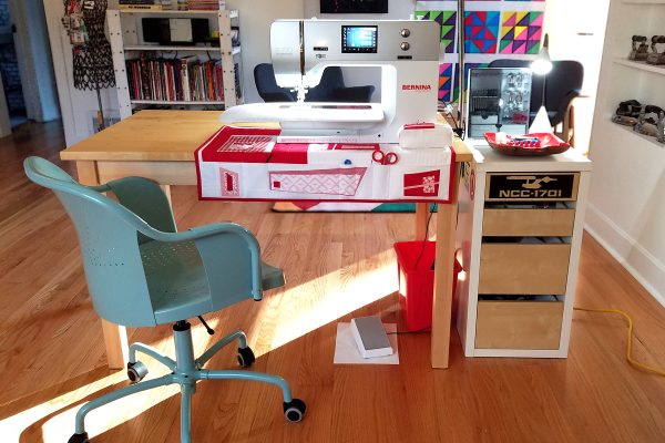 Sewing studio organization tips