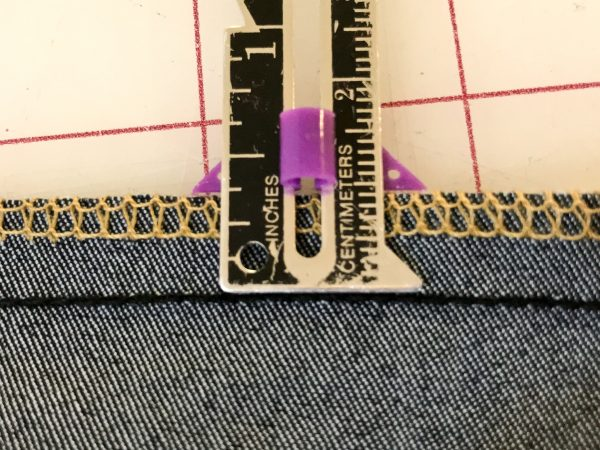 How to Sew Jeans with a 3-Thread Overlock + Chain Stitch Tutorial 1200 x 800 BERNINA WeAllSew Blog - Erica Bunker DIY Style