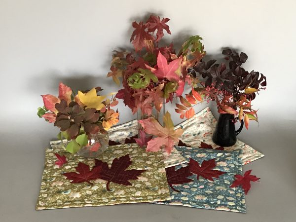 Autumn Leaf Placemats Tutorial