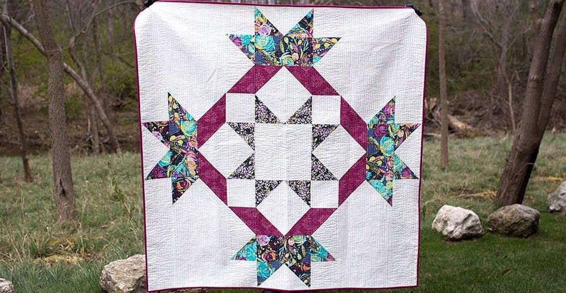Radiant splendor supersized quilt