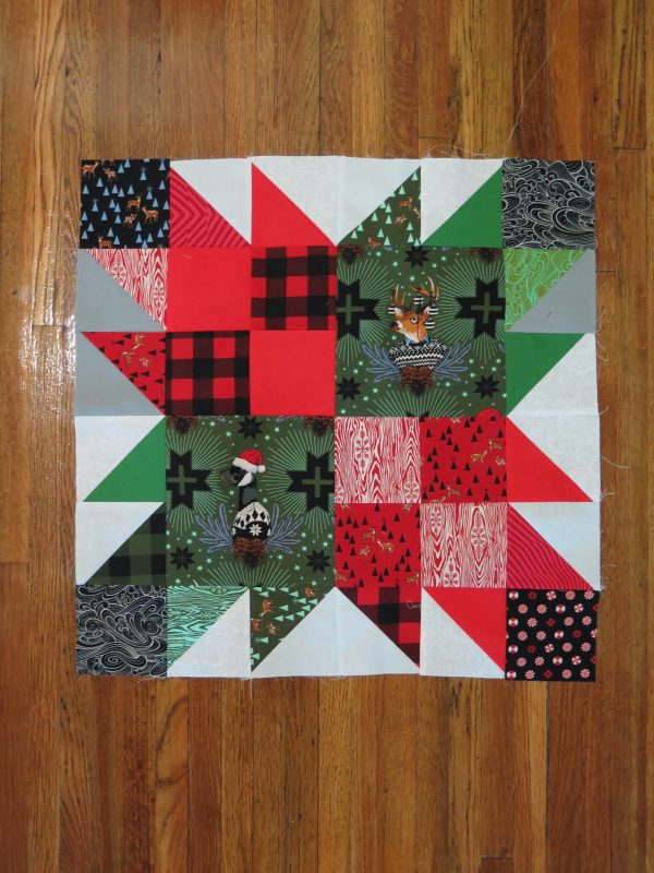 Quick and Easy Christmas Quilt: Block 3 | WeAllSew : christmas quilt block - Adamdwight.com