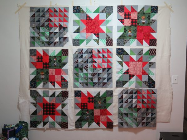 Quick And Easy Christmas Quilt Joining Your Blocks Weallsew
