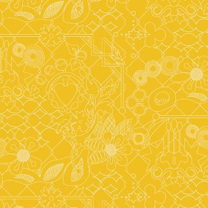 Fabric B Yellow