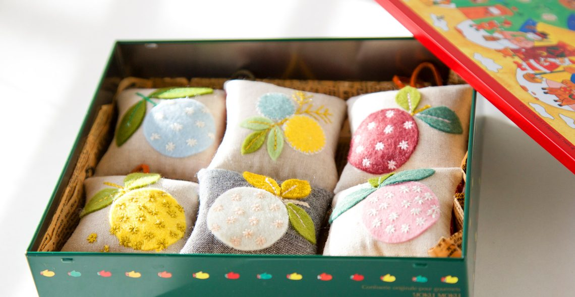 Handmade Felt Appliqué Pincushions