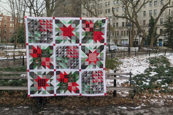 Quick Christmas Quilt