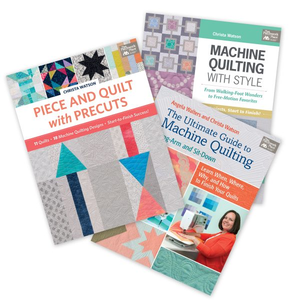 Christa Watson Machine Quilting Books