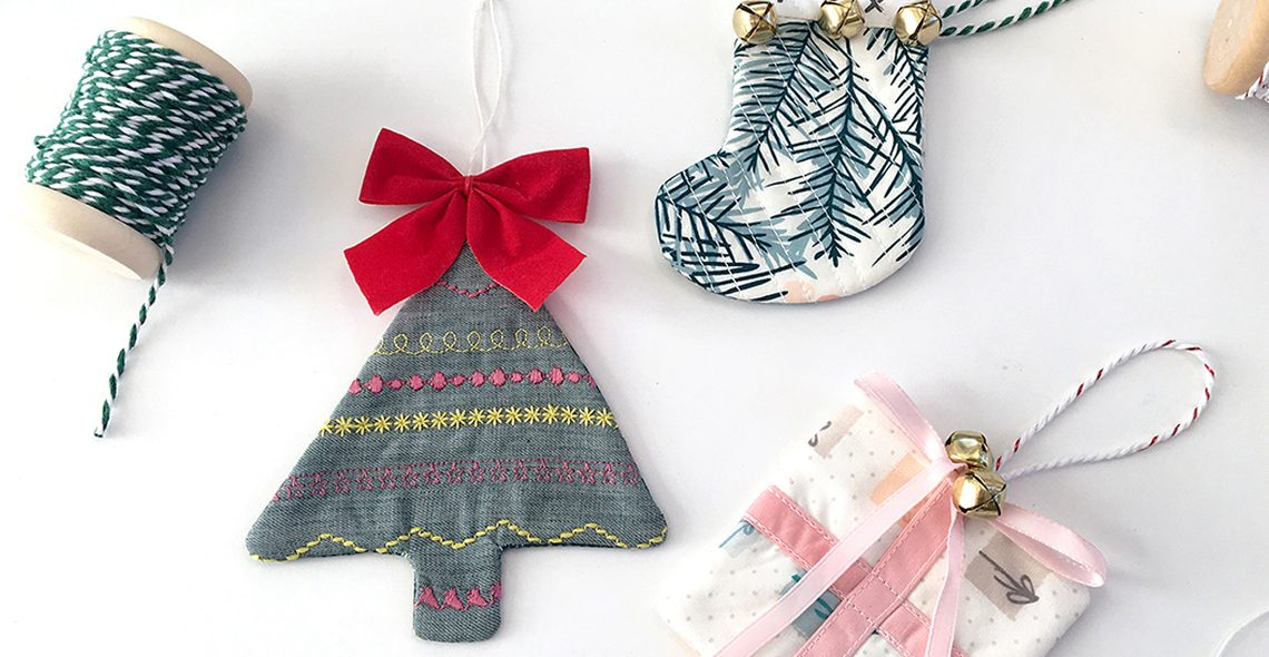 Quilty holiday ornament tutorial