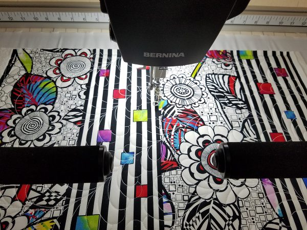 Quilting with the BERNINA Q24