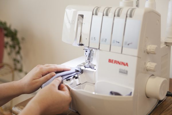 sewing knits on a BERNINA serger