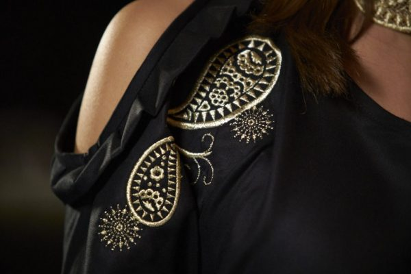 125-years-dress-detail with paisley design