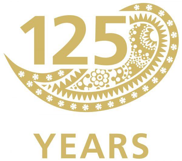 125 Year Anniversary Logo