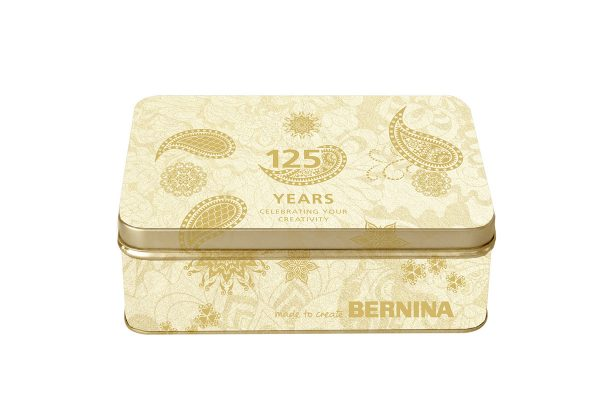 BERNINA Anniversary tin
