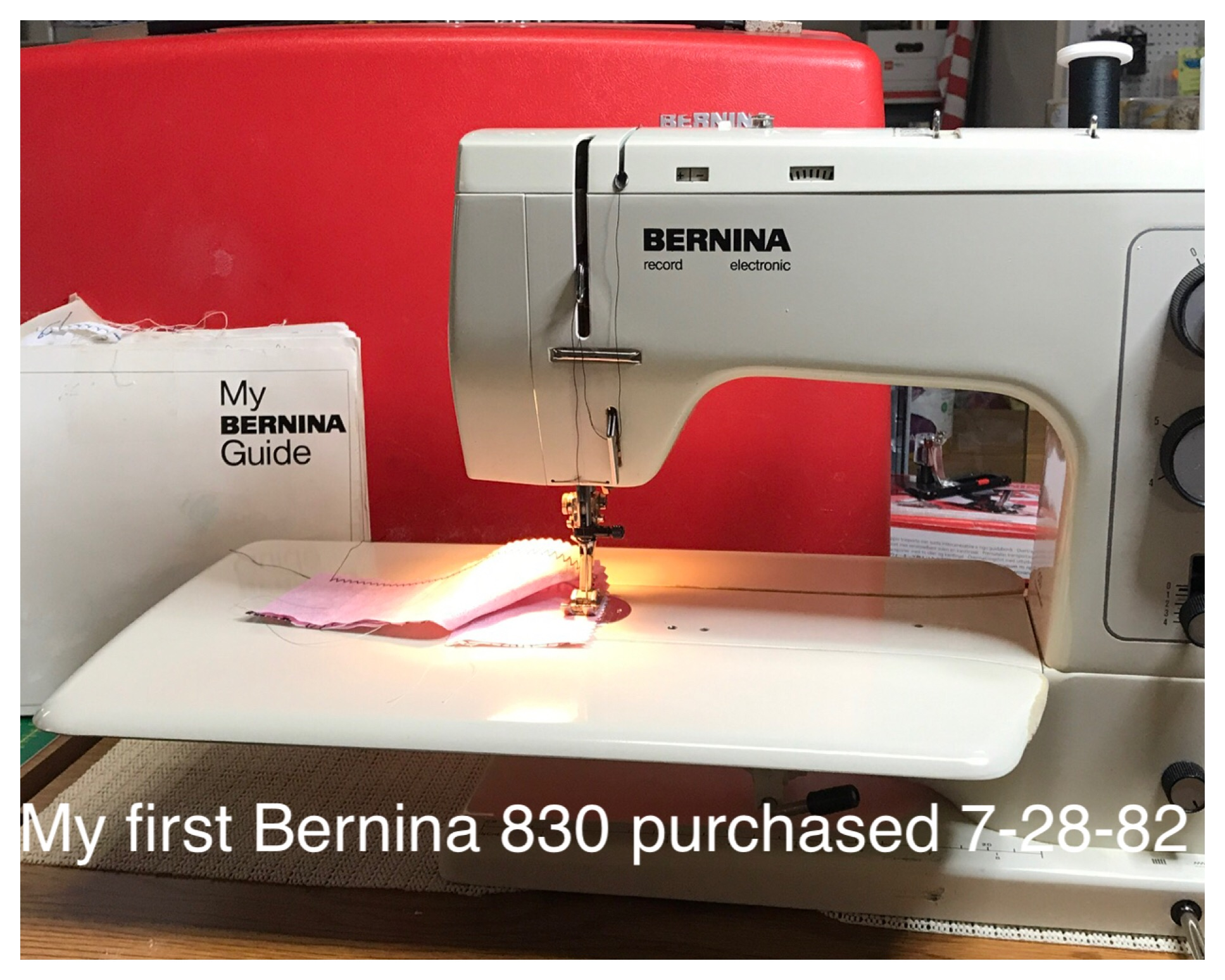 My First Bernina 830 With The Red Case Is Now 36 Years Old Weallsew Sewing Machine Threading Diagram Img 0628 0629 1619 0624