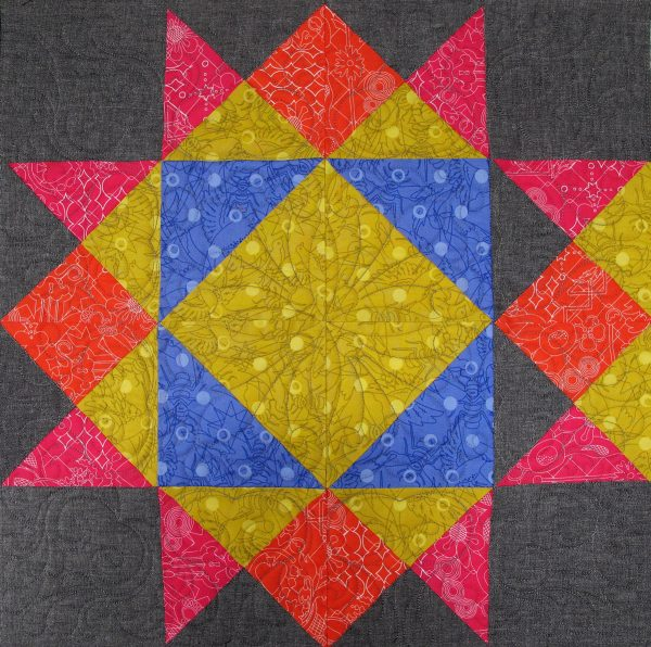 Mistake in construction - check your work before piecing and quilting