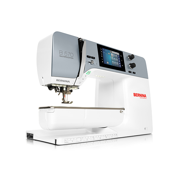 The new BERNINA 570 QE