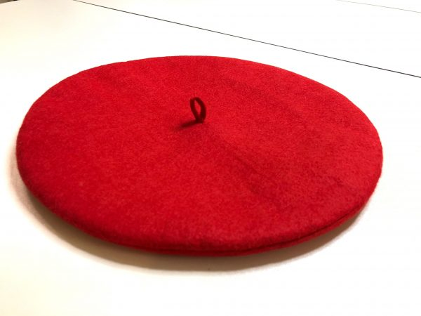 How to sew a wool felt beret tutorial