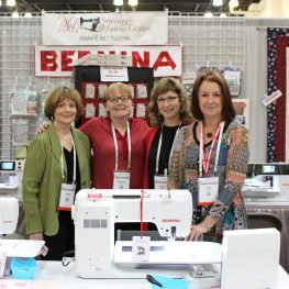 Hello from QuiltCon 2018