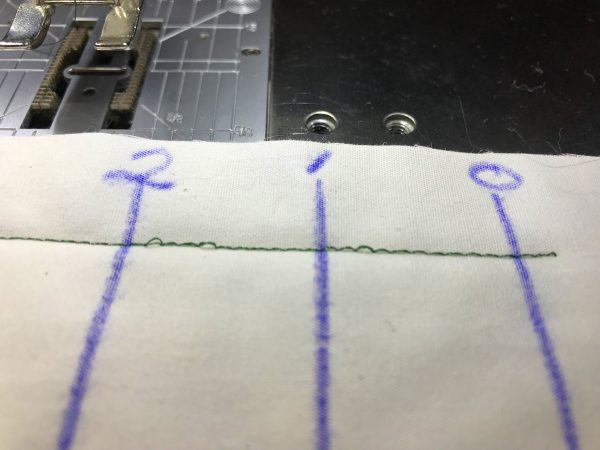 Tension Testing Tutorial - loose top thread