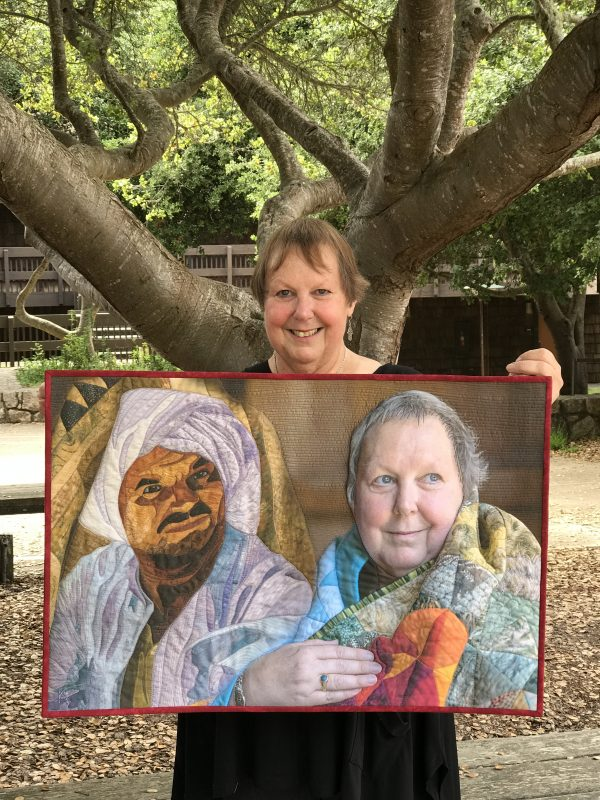 Australian quilt artist and teacher Jenny Bowker