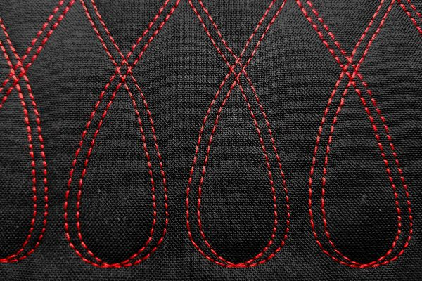 Twin Needle Quilting with Q-matic - Corrected Stitch